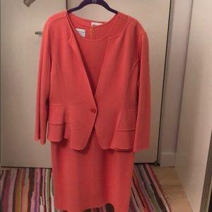 Salmon dress/blazer